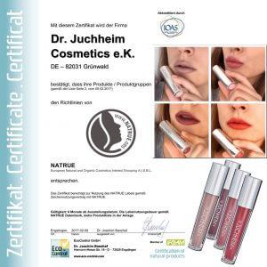 Dr. Juchheim Zertifikat