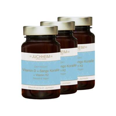 3x Vitamin D Sango Koralle Vitamin K2